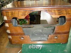 Vintage ZENITH Tube Radio Zenith model 7S529 ORIGINAL CABINET
