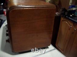 Vintage Zenith 5S218 Cube tube type Radio WORKING