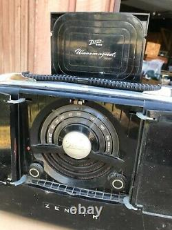 Vintage Zenith 6G801 radio with Chassis 6E40