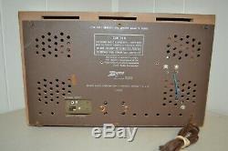 Vintage Zenith AM/FM Tube High Fidelity Radio Model C845L (WORKS)