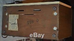 Vintage Zenith AM / FM Tube Radio C845l c 845 L 1950s