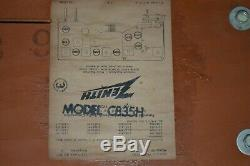 Vintage Zenith Art Deco AM/FM Tube Radio Model C835H