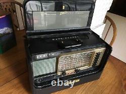 Vintage Zenith B600 Trans-oceanic Wave Magnet Multi-band Shortwave Radio