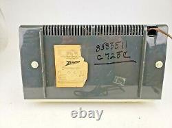 Vintage Zenith C725C AM/FM Radio Tube Audio 1950's Tested #2