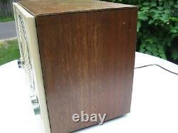 Vintage Zenith C845 High Fidelity AM/FM Table Top Tube Radio Mid Century Modern
