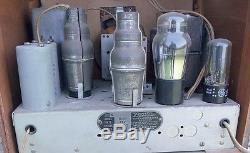 Vintage Zenith Catherdral Model 805 Tube Radio for Parts or Restoration