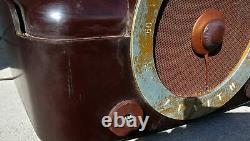 Vintage Zenith Cobra Matic Record Player & Radio H 664