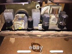 Vintage Zenith Consoltone Catalin/Bakelite Tube Radio