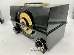 Vintage Zenith J615Y Mid Century Modern Tube Radio Tested Working