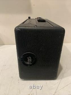 Vintage Zenith L600 TransOceanic Tube Radio Portable WaveMagnet 1950's Parts