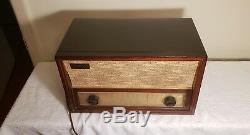 Vintage Zenith Long Distance Tube Radio #730 Mid Century 1959