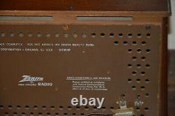 Vintage Zenith Long Distance Tube Radio K731