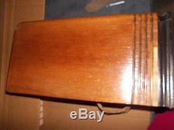 Vintage Zenith Model 5s127 Tombstone Radio