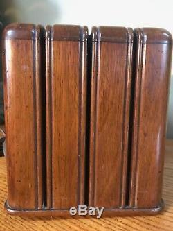 Vintage Zenith Model 6D525 Table Top Tube radio original the'Toaster