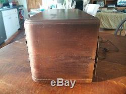 Vintage Zenith Model 6S632 Tabletop Tube Radio For Restoration