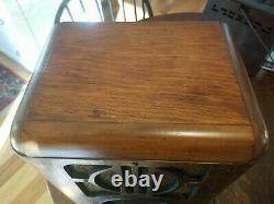 Vintage Zenith Model 6-S-229 Tombstone Radio Restored Working! Looks Great