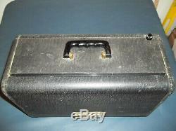 Vintage Zenith Model H500 Trans-Oceanic Portable Radio Good Looking Radio