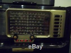 Vintage Zenith Model L600 Trans-Oceanic Portable Radio With Papers & Headphones
