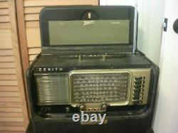 Vintage Zenith R600 Trans-Oceanic Short Wave Magnet Multi-Band Tube Radio