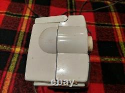 Vintage Zenith Radio K412 W (c. 1953) Owl Eye Portable Needs Repair