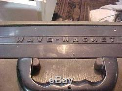 Vintage Zenith Radio Wave Magnet Trans Oceanic Original
