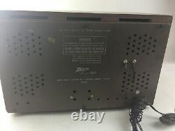 Vintage Zenith S-53555 Radio Model H-845 Works SEE VIDEO