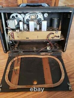 Vintage Zenith Shortwave Radio L507 Model-UNTESTED