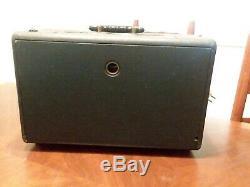 Vintage Zenith T600 Trans-Oceanic Wave Magnet multiband Tube Radio. Not working
