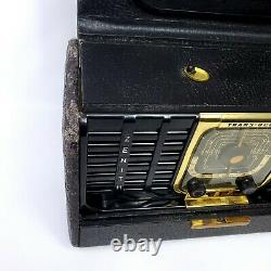 Vintage Zenith TransOceanic Tube Radio 8G005 1940's Clipper Tested Working
