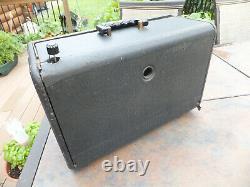 Vintage Zenith TransOceanic Tube Radio Model H500 Shortwave & AM Works, Issues