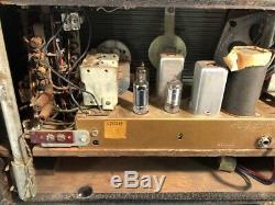 Vintage Zenith Trans-Oceanic H500 Chasis 5H40 Wave Magnet Shortwave Radio