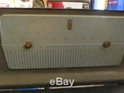 Vintage Zenith Trans-Oceanic H500 Radio Works! 1950's Tube Radio