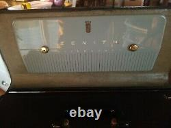 Vintage Zenith Trans-Oceanic Model H500 Radio Working With Operating Guide