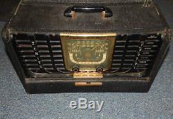 Vintage Zenith Trans Oceanic Portable Radio G500 R19248