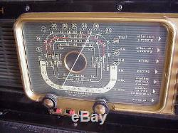 Vintage Zenith Trans Oceanic Short Wave Magnet Radio H500 Sounds Great WOW
