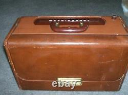 Vintage Zenith Trans-Oceanic Wave-Magnet Radio, Model A600L, Super Deluxe