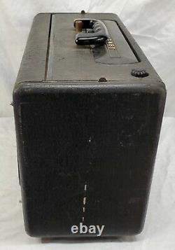 Vintage Zenith -Trans Oceanic, Wave Magnet, Tube Radio Model A600 -Tested