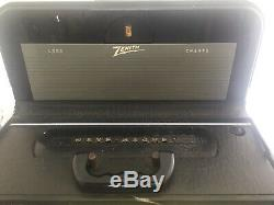 Vintage Zenith Trans-oceanic Tube Radio Model Y600