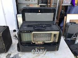 Vintage Zenith Trans-oceanic Wave Magnet Multi-band Shortwave Radio Model Y600