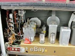 Vintage Zenith Trans-oceanic Wavemagnet Tube Radio Sw Multi-band Portable Case
