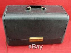 Vintage Zenith Trans-oceanic Wavemagnet Tube Radio Sw Multi-band Portable Case