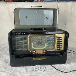 Vintage Zenith Transoceanic Radio-1951-model H500 It Works