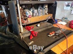 Vintage Zenith Transoceanic Radio-1951-model H500-serviced 2008-xtra Tube Set