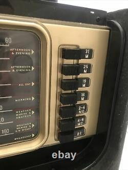 Vintage Zenith Transoceanic Wave Magnet Multi-Band Shortwave Radio Y600 & 6A40