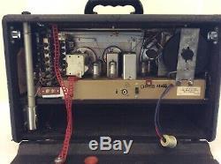 Vintage Zenith Transoceanic Wave Magnet Multi-Band Shortwave Radio Y600 Tested
