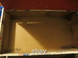 Vintage Zenith Tube Radio Carrying Case Repair Service Tool Box Bicentennial