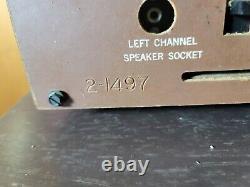 Vintage Zenith Tube Radio Model MJ1035 withRemote Speaker Plays Great