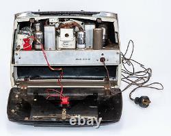 Vintage Zenith Wavemagnet 6g801y Tube Radio With Front Doors