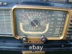 Vintage Zenith Wavemagnet Trans Oceanic Shortwave Radio NICE CONDITION WORKS