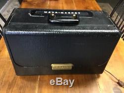 Vintage Zenith Wavemagnet Trans Oceanic World Band Portable Tube Ham Radio